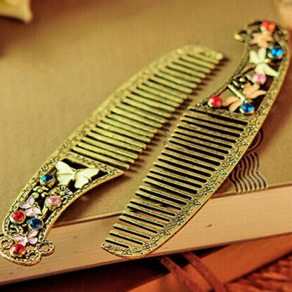 Vintage Womens Dragonfly Comb - PicaPicaBeauty