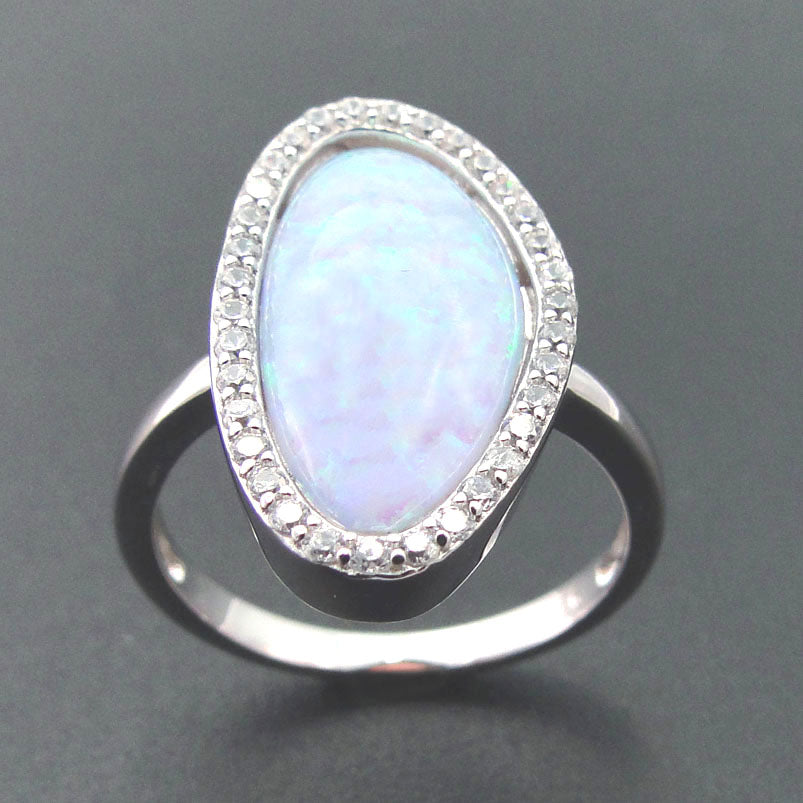 Rustic Opal Band - PicaPicaBeauty