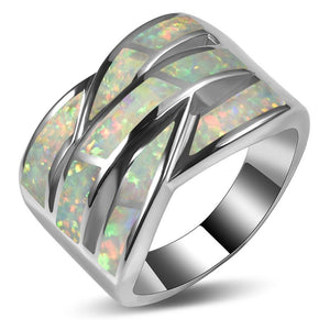 Wicker Opal Ring - PicaPicaBeauty