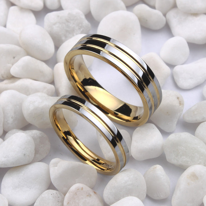 Classic Silver Tungsten Band - PicaPicaBeauty