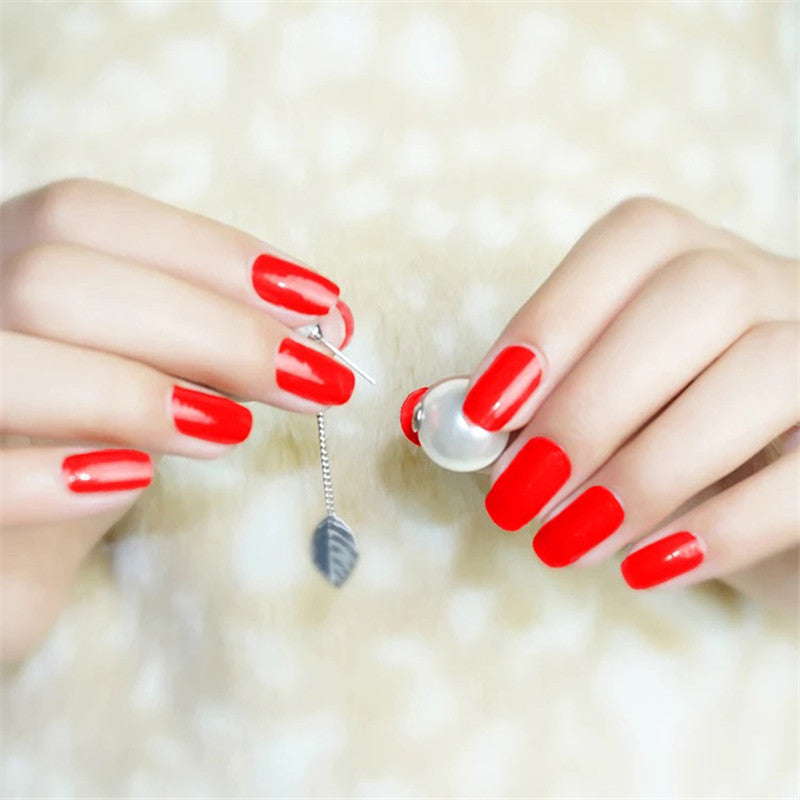 16 Tips Real Nail Polish Stickers - Chilli - PicaPicaBeauty