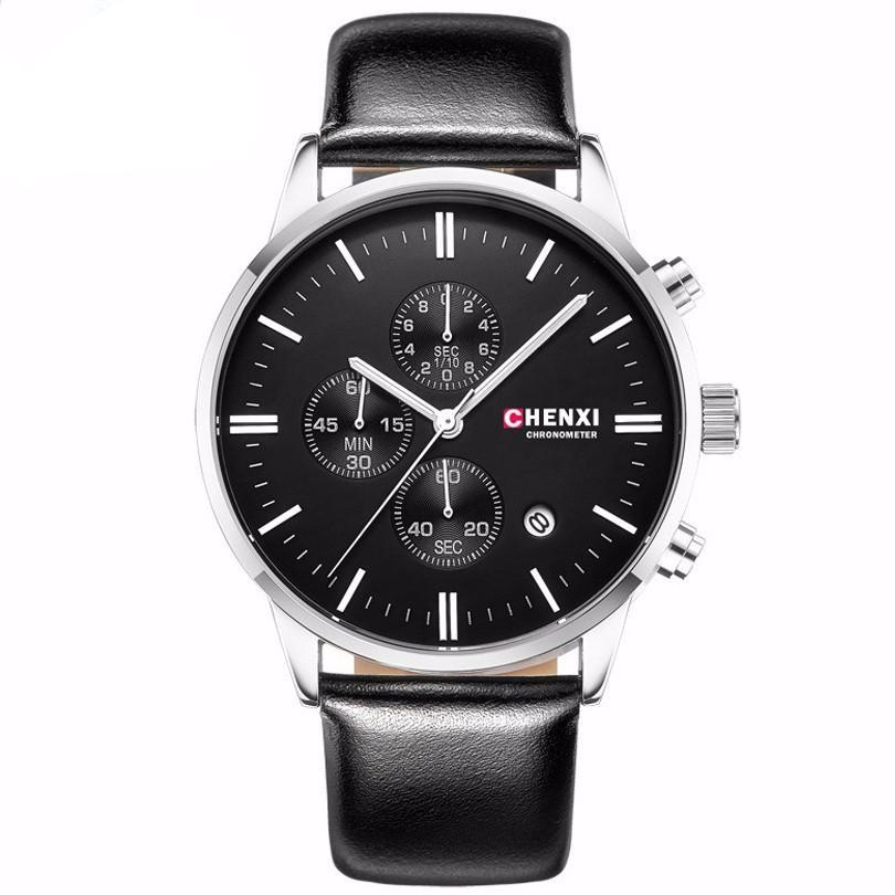 Fashion Men Sports Chronograph Wristwatch - PicaPicaBeauty