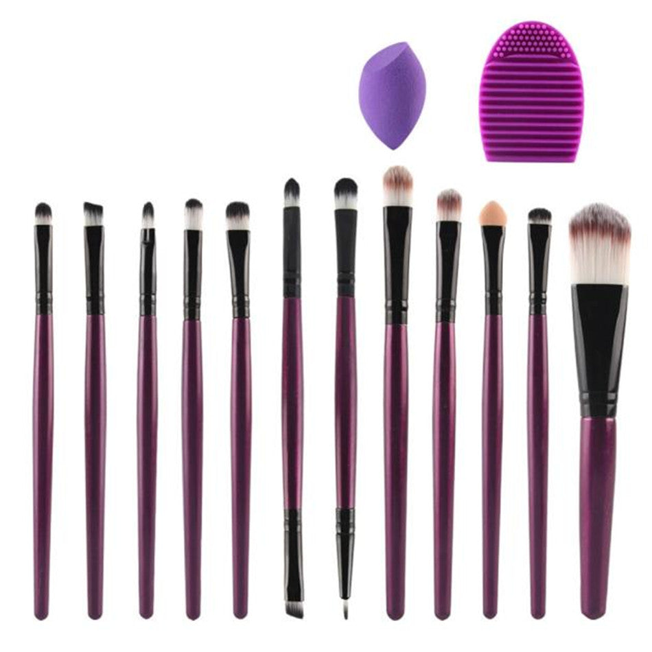 Purple Fuchsia 14 Pieces Set - PicaPicaBeauty