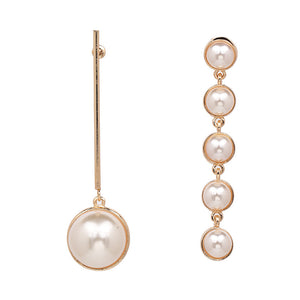 Costume Jewellery - Pearl Drop Earrings Variety Selection - PicaPicaBeauty