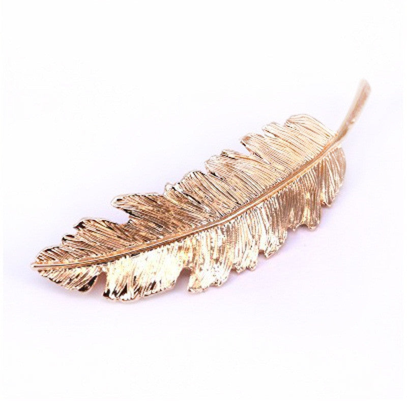 Vintage Leaf Hairpin - PicaPicaBeauty