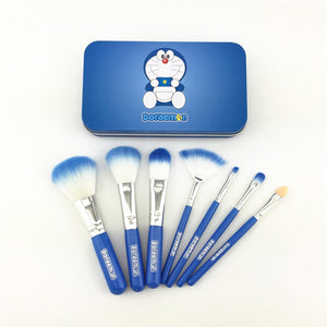 Cute Blue 7pcs Makeup Kit - PicaPicaBeauty