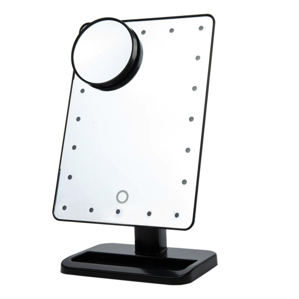 Adjustable LED Touch Screen Makeup Mirror - PicaPicaBeauty