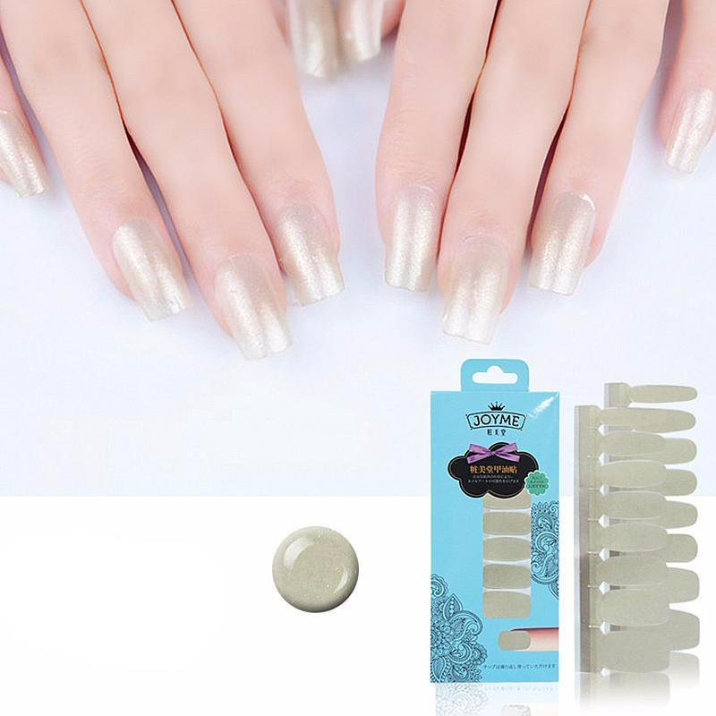 16 Tips Real Nail Polish Stickers - Champagne - PicaPicaBeauty