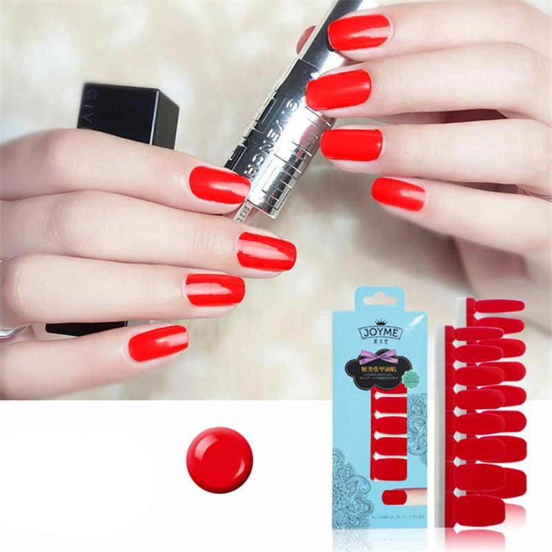 16 Nail Polish Stickers - Chilli - PicaPicaBeauty