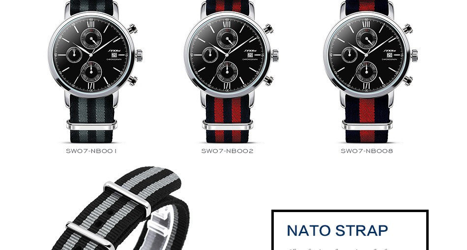 Military Sport Watches For Men - PicaPicaBeauty