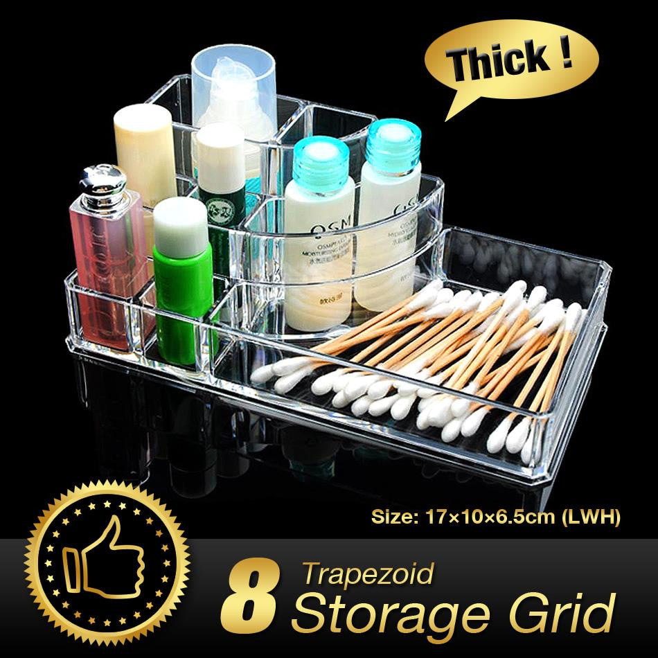 Acrylic Makeup Organizer,storage box - PicaPicaBeauty