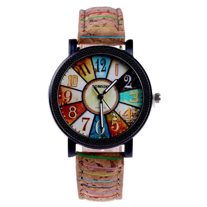 Unique Retro Women's Quartz Wristwatch - PicaPicaBeauty