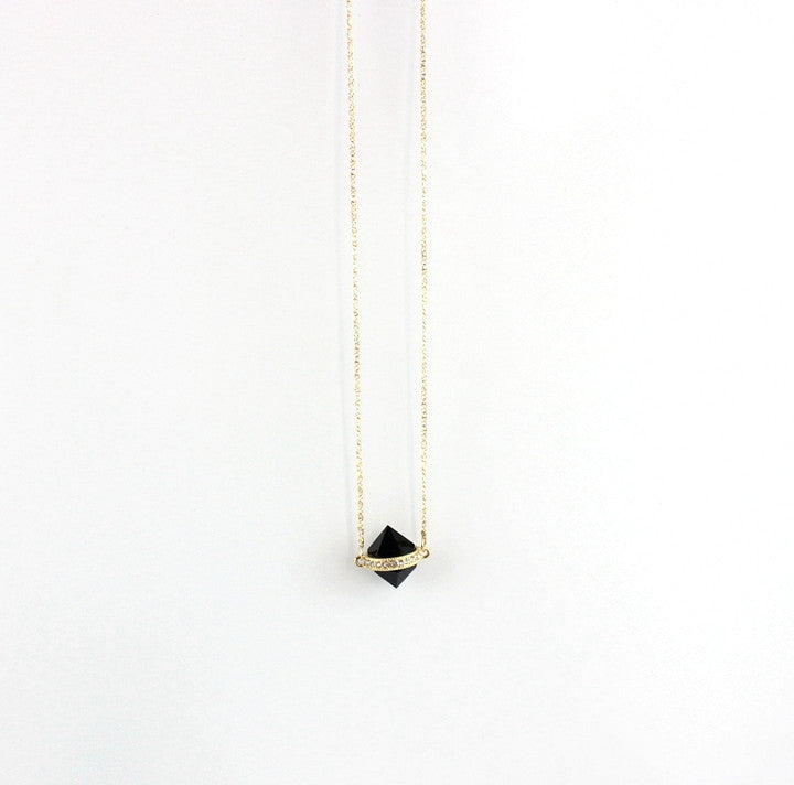 Handmade personality black chain necklace - PicaPicaBeauty