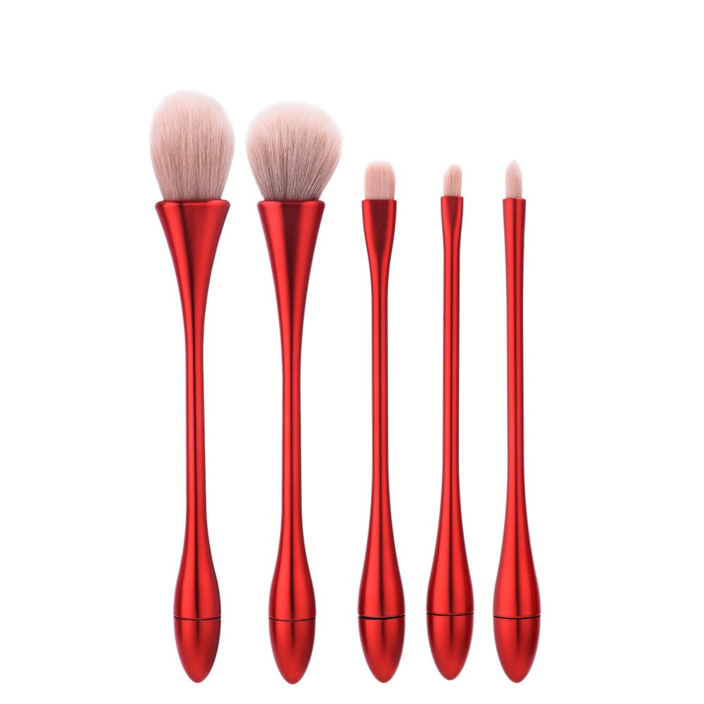 5pcs Water-Drop Design Kabuki Brush Set - PicaPicaBeauty