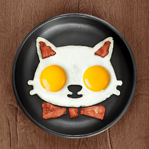 Funny Cat Egg Mold - Wonderful Cats