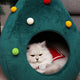 Christmas Tree Cat House - Wonderful Cats