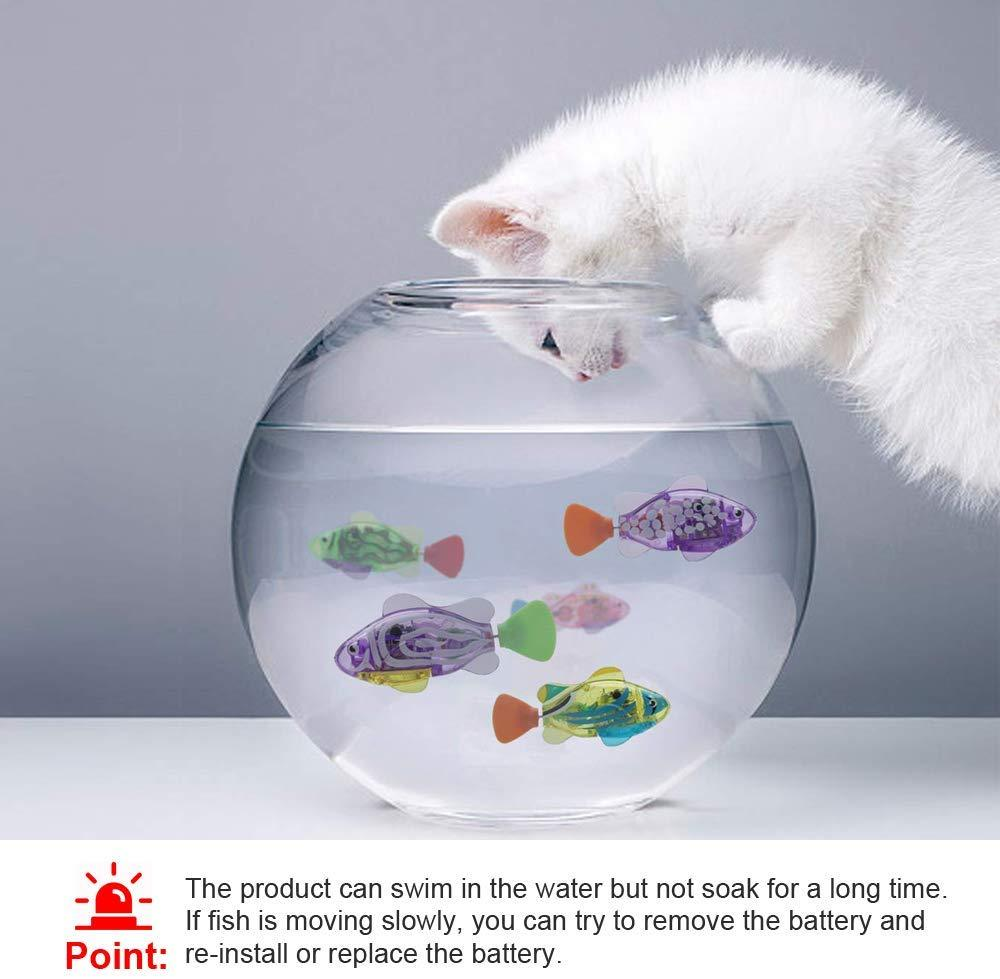 Interactive Robotic Swimming Fish Toys For Cats - Wonderful Cats