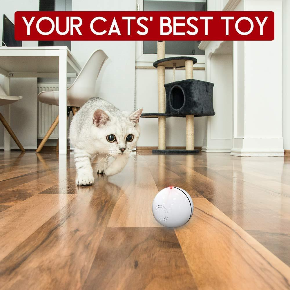 Smart Automatic Cat Laser Moving Ball - Wonderful Cats