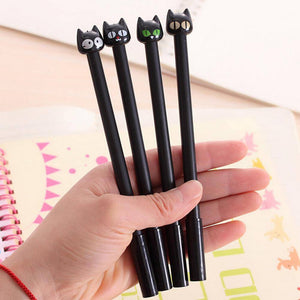 Cute Cat Pens 4 Pcs