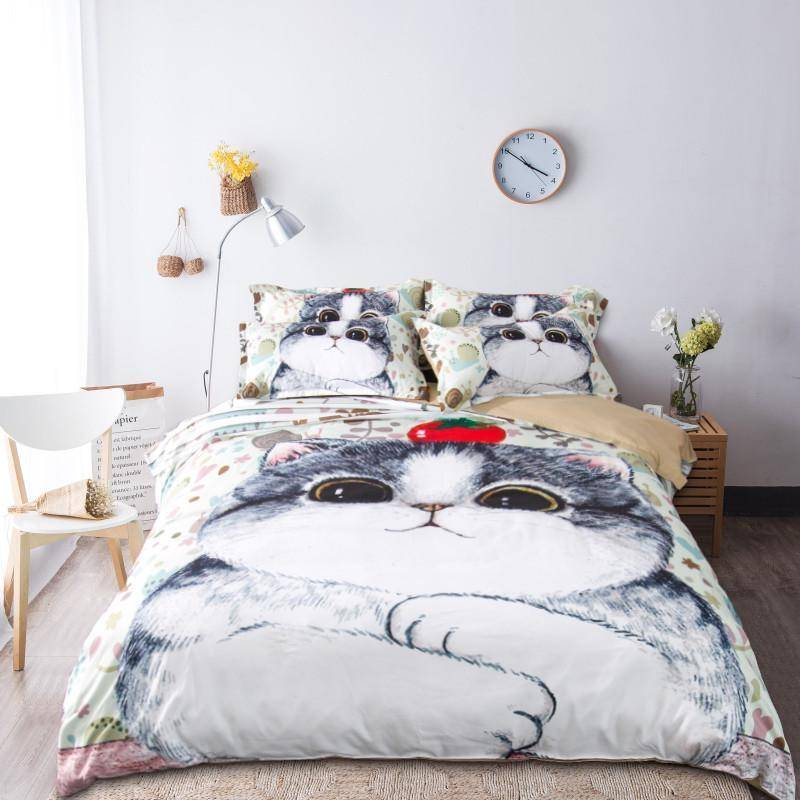 Cat Bedding Set - Wonderful Cats