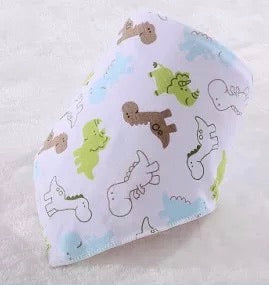 reversible baby bib [collection B]