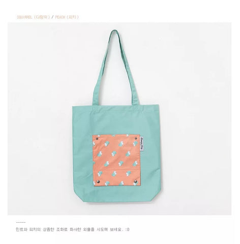 Nordic Pattern Tote Bag