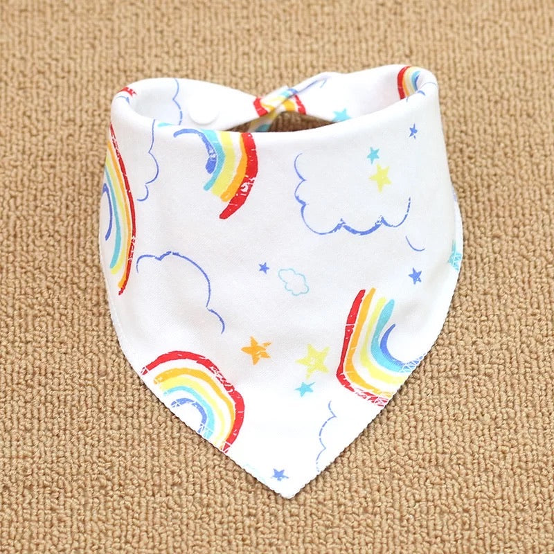 reversible baby bib [collection C]