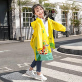 kids waterproof ᵉᵛᵃ cartoon rain coat