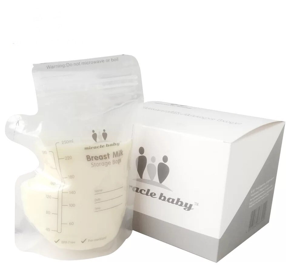Miracle Baby Milk Storage Bag (250ml)