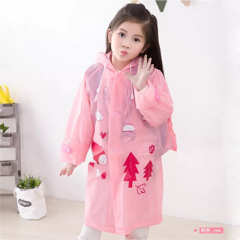 Waterproof Raincoat For Kids