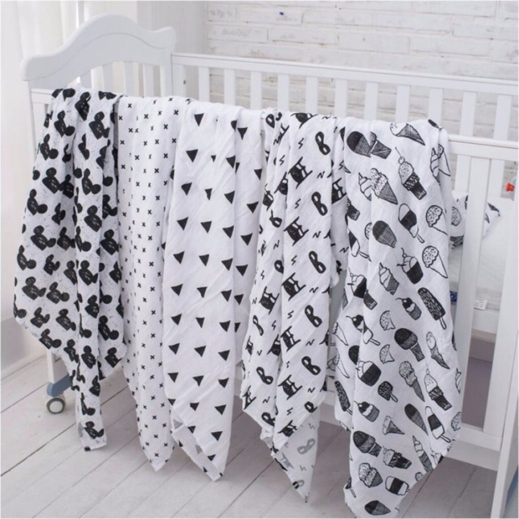 muslin cotton swaddle