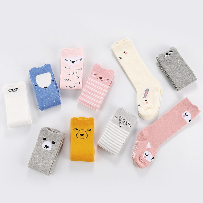 Cute Korean Knee Length Socks