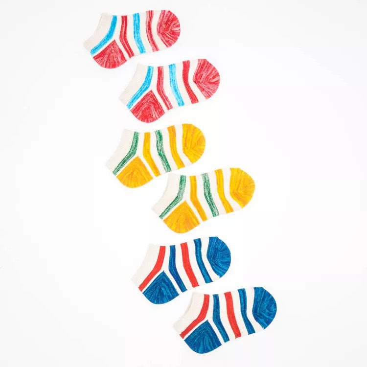 color stripe baby socks [1 pair/pack]