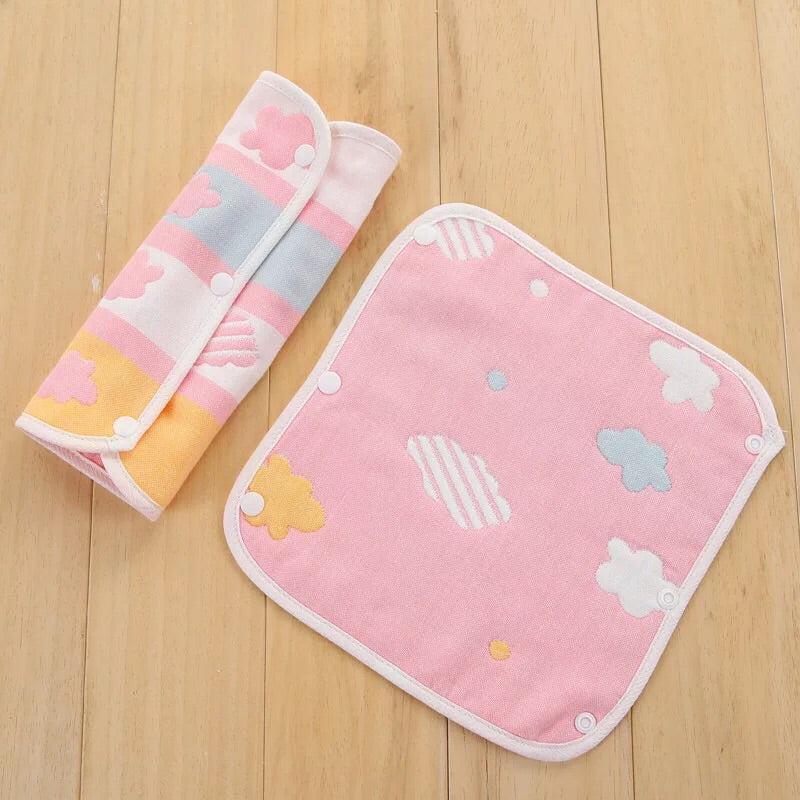 reversible multi-purpose drool pad [1 pair/pack]