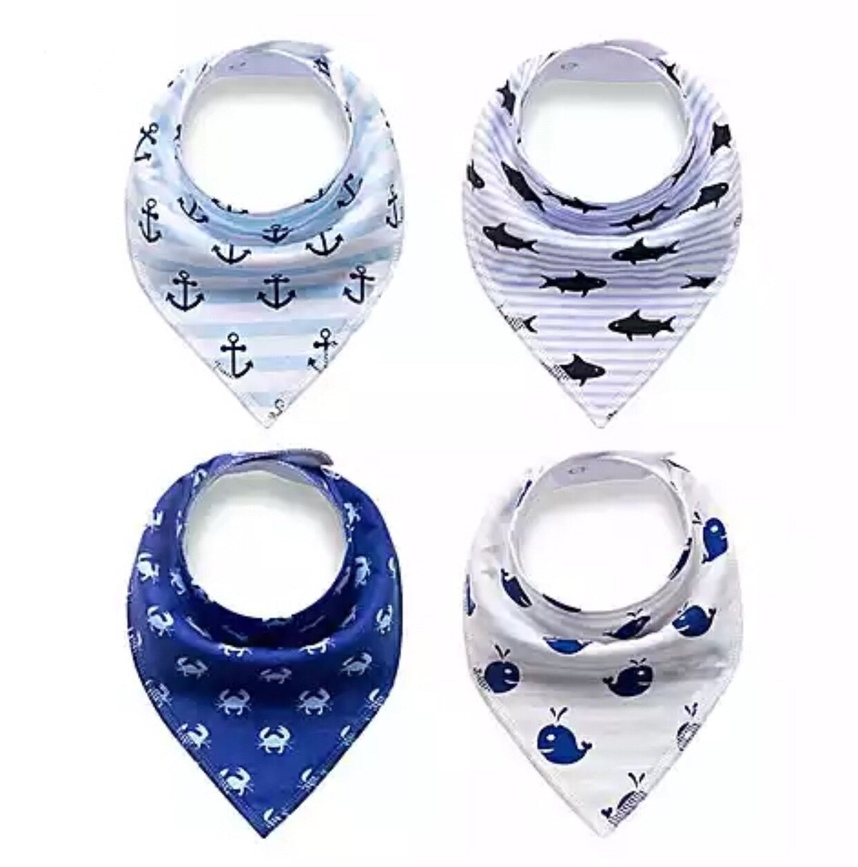 Nordic Baby Bib (Bundle Set of 4)