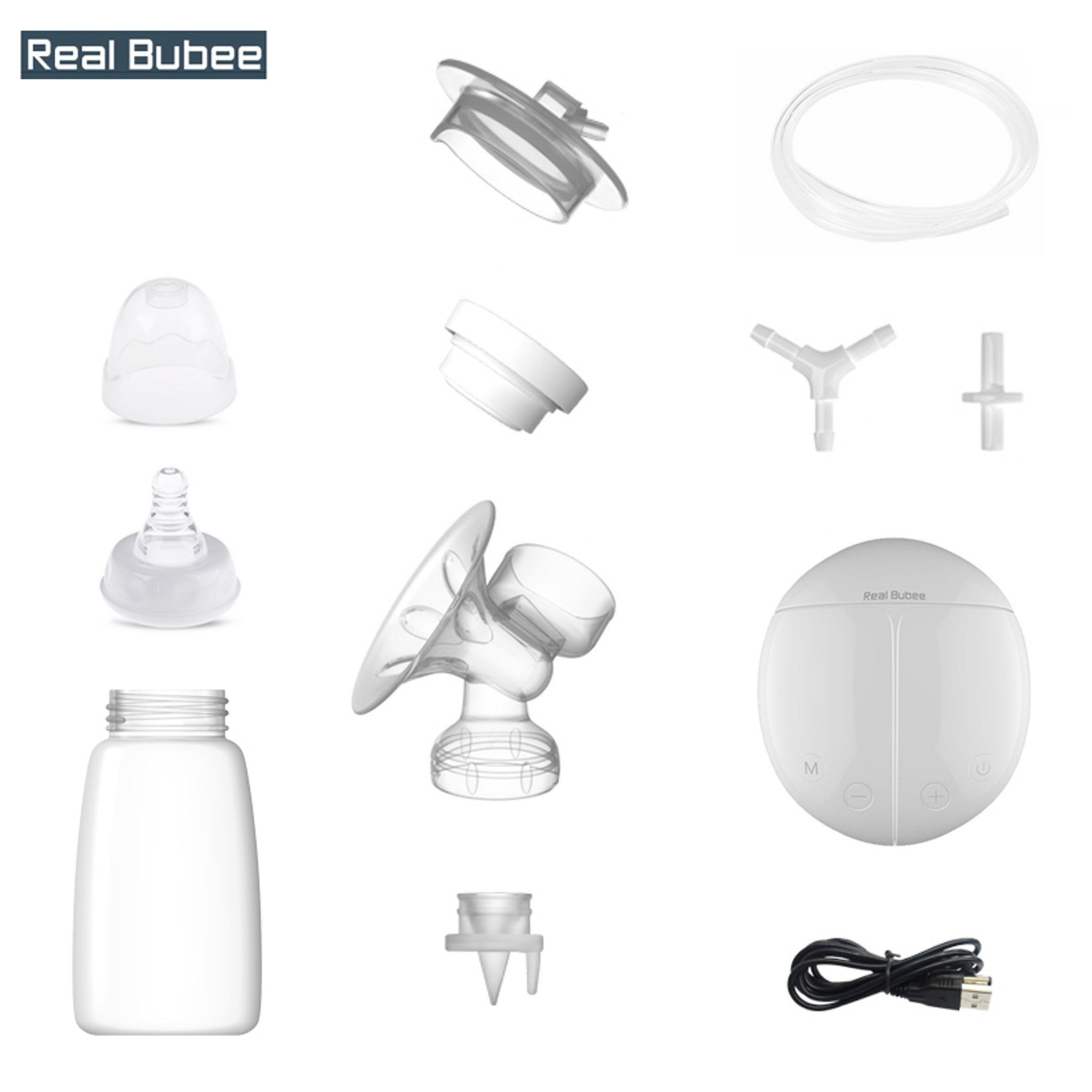 Replacement Parts for Real Bubee Intelligent Double Pump