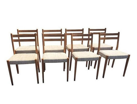 Danish Modern Svegards Markard Teak Dining Chairs - Set of 8-  SOLD-SOLD -SOLD