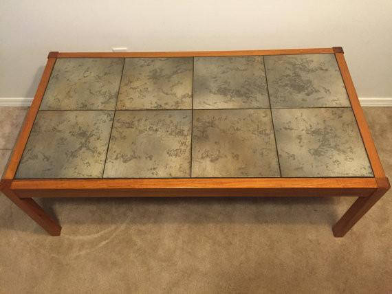 Mid Century Modern Vintage Danish Modern Teak Coffee Table