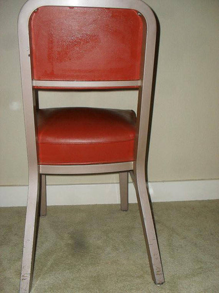Vintage 1950's Steelcase Office Desk Chair