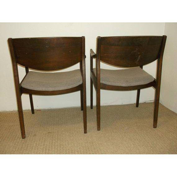 Fantastic Mid Century Modern Gunlocke Chairs A Pair Vintage Modern Gmtry Best Dining Table And Chair Ideas Images Gmtryco