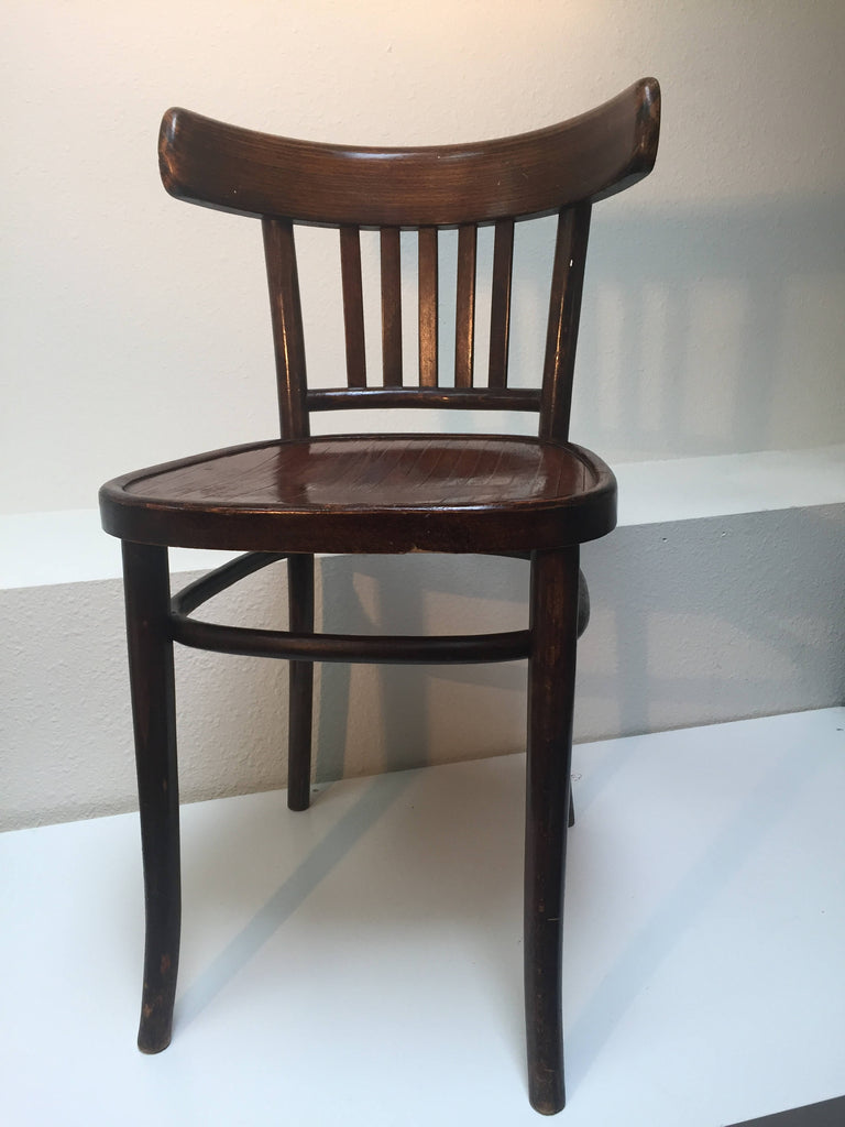 Antique Bentwood Chair Made In Krakow Poland In The Style Of Michael Thonet  1900u0027s SOLD