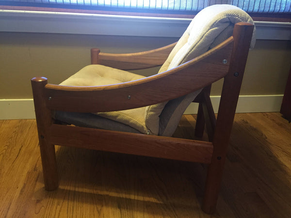 Mid Century Domino Mobler Danish Modern Teak Lounge Chair- SOLD -SOLD -SOLD