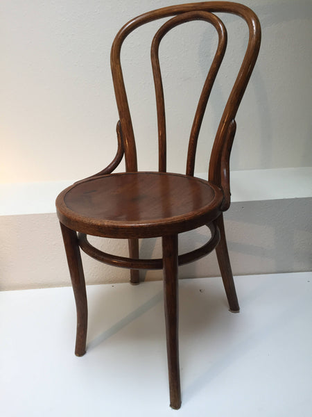 Antique Oak Bentwood Chair by Albert Pick Co. in the style of Michael Thonet 1900's-SOLD- SOLD- SOLD