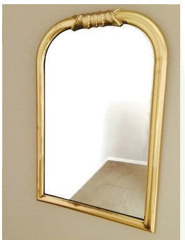 Hollywood Regency Brass Framed Mirror   - SOLD- SOLD- SOLD