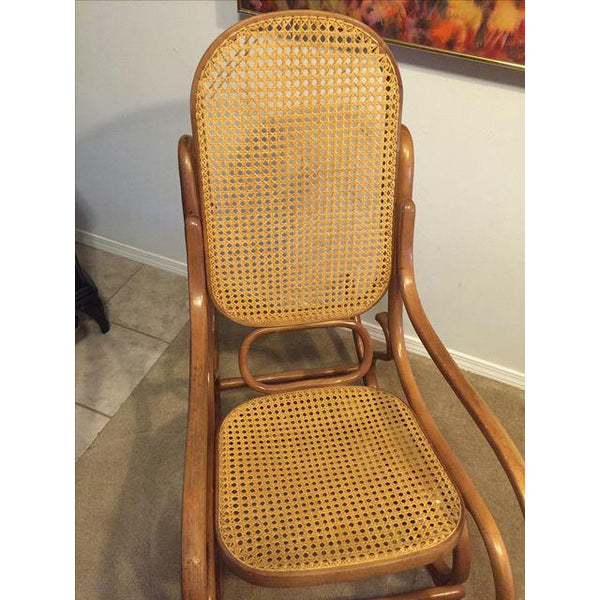 Vintage Mid-Century Thonet Style Bentwood Rocking Chair SOLD- SOLD - SOLD