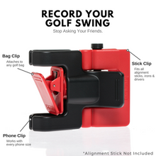 Load image into Gallery viewer, Red/Black - SelfieGOLF USA