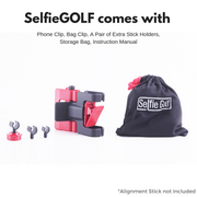 Jet Black - SelfieGOLF USA