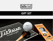 SelfieSpinner X Titleist Ball Gift Set - Deluxe Pack - SelfieGOLF USA