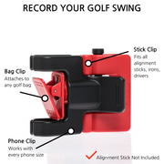 SelfieGolf Red/Black
