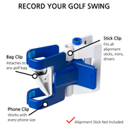 SelfieGolf Blue/White
